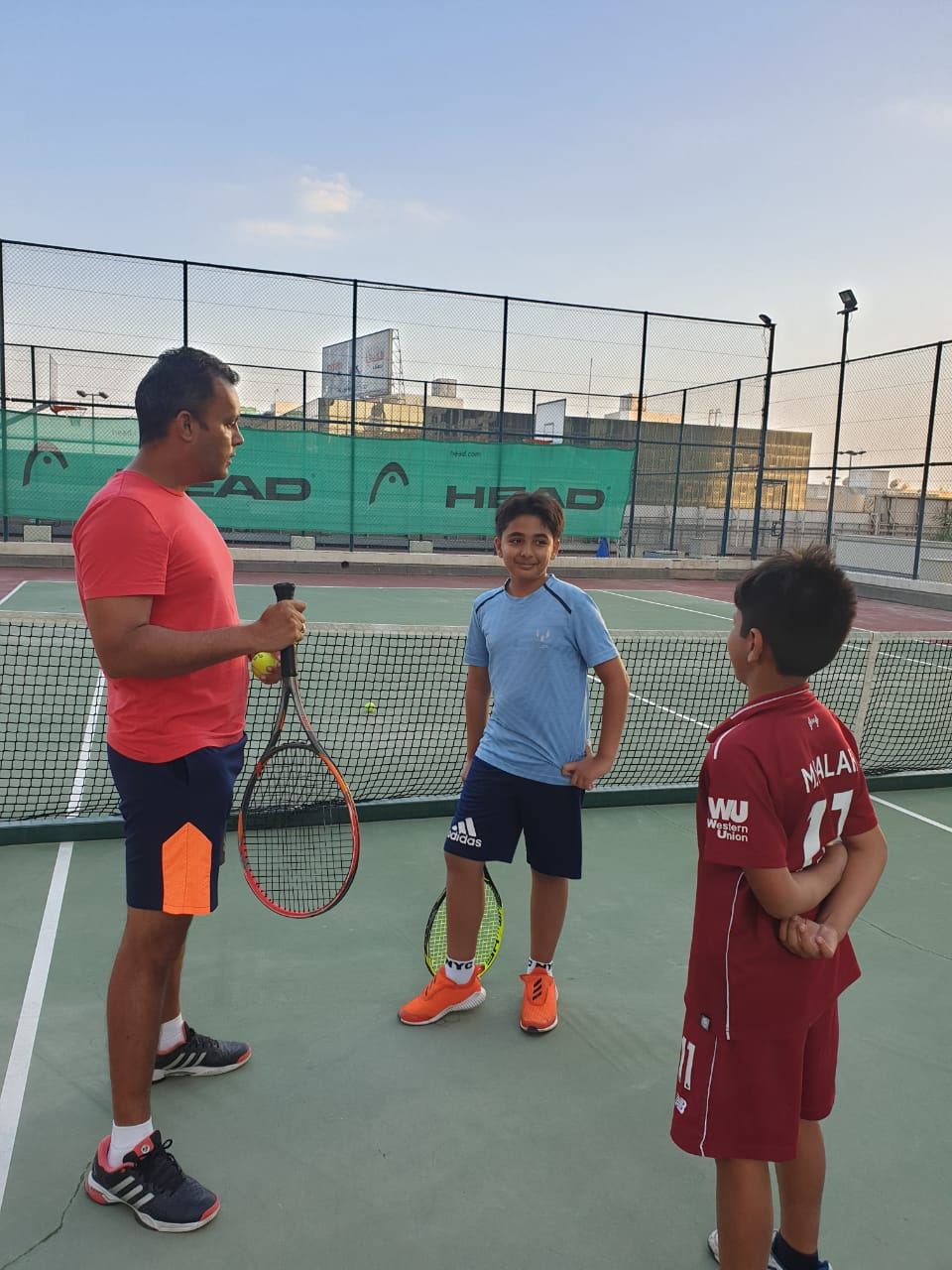 Tennis classes for adults in Dubai for Beginners Level